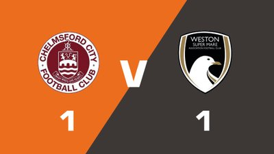 Highlights: Chelmsford City vs Weston-Super-Mare