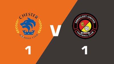 Highlights: Chester vs Ebbsfleet United