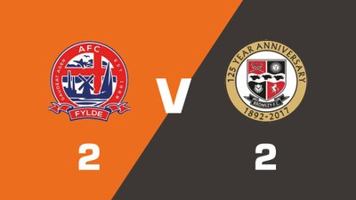 Highlights: AFC Fylde vs Bromley