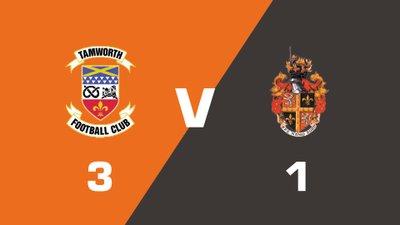 Highlights: Tamworth vs Spennymoor Town