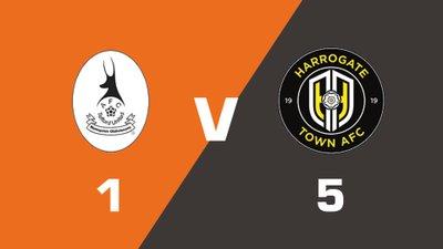 Highlights: AFC Telford United vs Harrogate Town