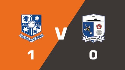 Highlights: Tranmere Rovers vs Barrow