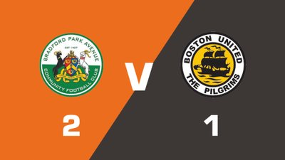 Highlights: Bradford Park Avenue vs Boston United