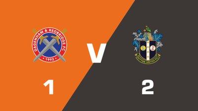 Highlights: Dagenham and Redbridge vs Sutton United