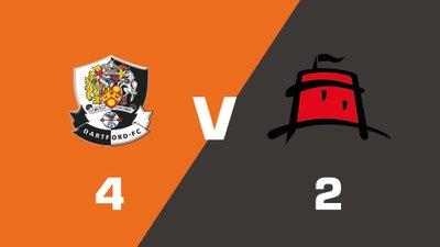 Highlights: Dartford vs Eastbourne Borough
