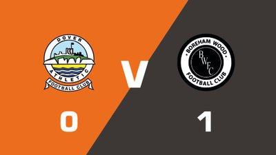 Highlights: Dover Athletic vs Boreham Wood