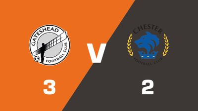 Highlights: Gateshead vs Chester