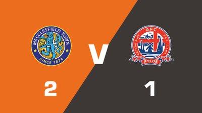Highlights: Macclesfield Town vs AFC Fylde