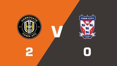 Highlights: Harrogate Town vs York City