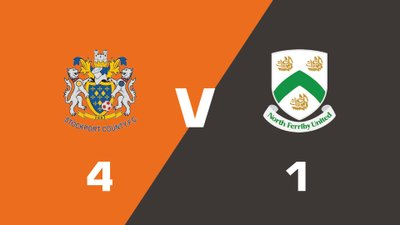 Highlights: Stockport County vs North Ferriby United