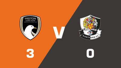 Highlights: Weston-Super-Mare vs Dartford