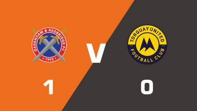 Highlights: Dagenham and Redbridge vs Torquay United