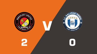 Highlights: Ebbsfleet United vs FC Halifax Town