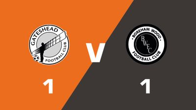 Highlights: Gateshead vs Boreham Wood
