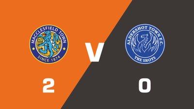 Highlights: Macclesfield Town vs Aldershot Town