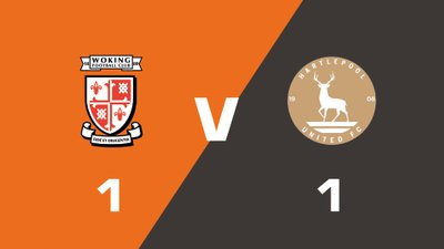 Highlights: Woking vs Hartlepool United