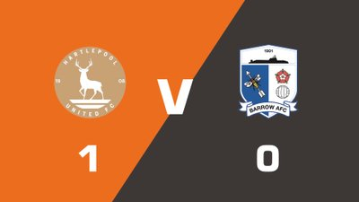 Highlights: Hartlepool United vs Barrow