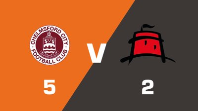 Highlights: Chelmsford City vs Eastbourne Borough