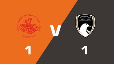 Highlights: Hemel Hempstead Town vs Weston-Super-Mare