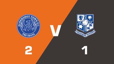 Highlights: Aldershot Town vs Tranmere Rovers