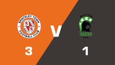 Highlights: Brackley Town vs Blyth Spartans