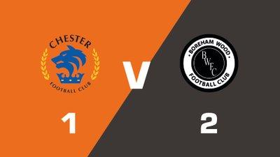 Highlights: Chester vs Boreham Wood