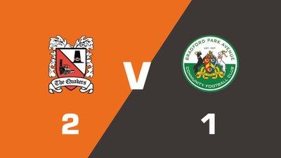 Highlights: Darlington vs Bradford Park Avenue