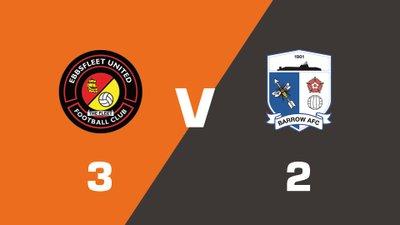 Highlights: Ebbsfleet United vs Barrow