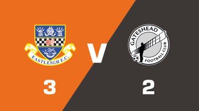 Highlights: Eastleigh vs Gateshead
