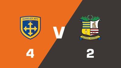 Highlights: Guiseley vs Solihull Moors