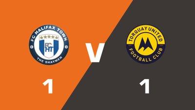 Highlights: FC Halifax Town vs Torquay United