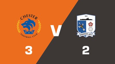 Highlights: Chester vs Barrow