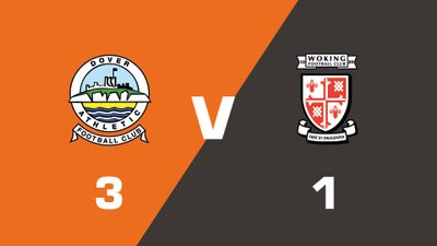 Highlights: Dover Athletic vs Woking