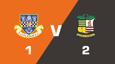 Highlights: Eastleigh vs Solihull Moors