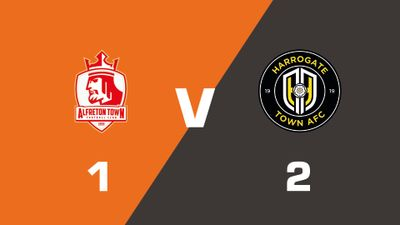 Highlights: Alfreton Town vs Harrogate Town