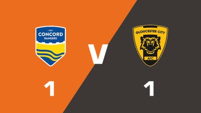 Highlights: Concord Rangers vs Gloucester City