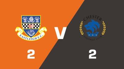 Highlights: Eastleigh vs Chester