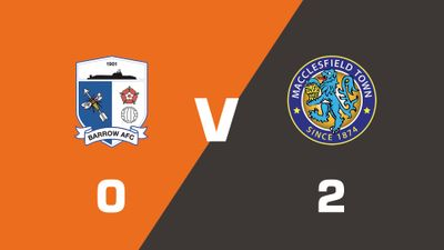 Highlights: Barrow vs Macclesfield Town