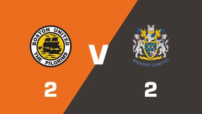 Highlights: Boston United vs Stockport County