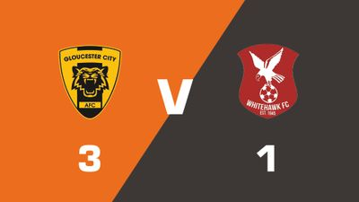 Highlights: Gloucester City vs Whitehawk