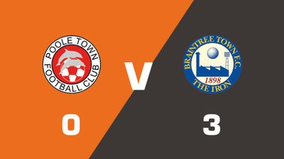 Highlights: Poole Town vs Braintree Town
