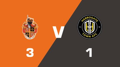 Highlights: Spennymoor Town vs Harrogate Town