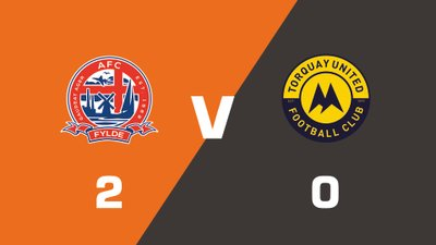 Highlights: AFC Fylde vs Torquay United