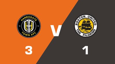 Highlights: Harrogate Town vs Boston United