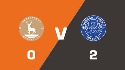 Highlights: Hartlepool United vs Aldershot Town