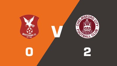 Highlights: Whitehawk vs Chelmsford City