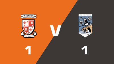 Highlights: Woking vs Maidenhead United