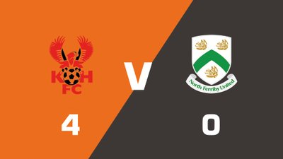 Highlights: Kidderminster Harriers vs North Ferriby United