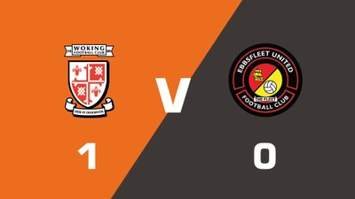 Highlights: Woking vs Ebbsfleet United