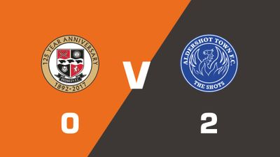 Highlights: Bromley vs Aldershot Town